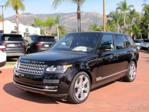 New 2017 Land Rover Range Rover Autobiography With Navigation & 4WD