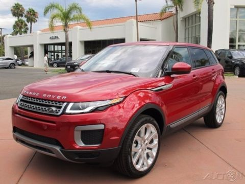 New 2017 Land Rover Range Rover Evoque SE With Navigation & 4WD