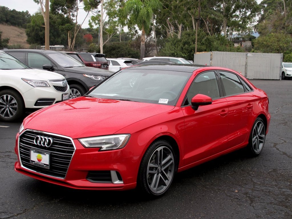pre owned 2017 audi a3 sedan premium 4dr car in santa. Black Bedroom Furniture Sets. Home Design Ideas