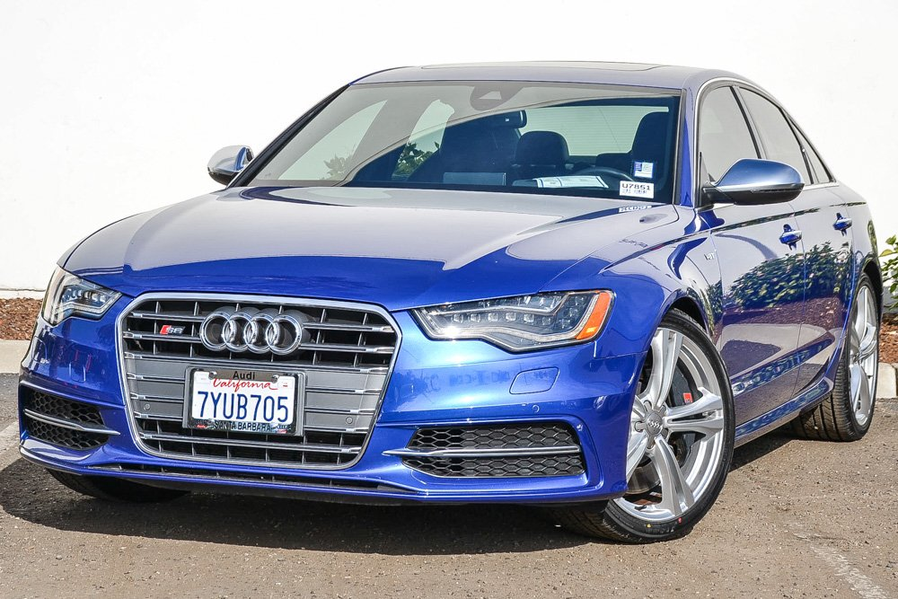 Pre-Owned 2015 Audi S6 4.0T